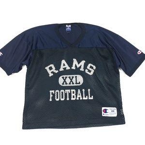Champion Rams Vintage Practice Jersey Football NFL